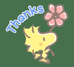 Lovely Snoopy sticker #11307559