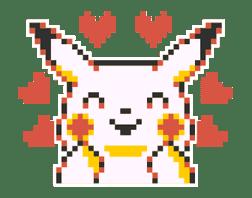 Pokémon Pixel Artwork and Sounds! sticker #12344670