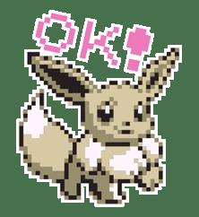 Pokémon Pixel Artwork and Sounds! sticker #12344671