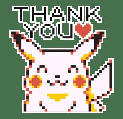Pokémon Pixel Artwork and Sounds! sticker #12344674