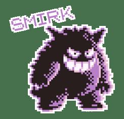 Pokémon Pixel Artwork and Sounds! sticker #12344675