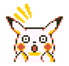 Pokémon Pixel Artwork and Sounds! sticker #12344678
