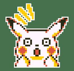 Pokémon Pixel Artwork and Sounds! sticker #12344678