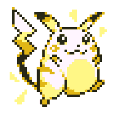 Pokémon Pixel Artwork and Sounds! sticker #12344682