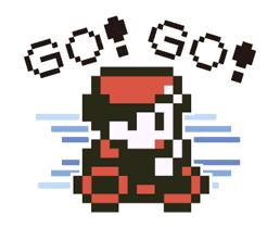 Pokémon Pixel Artwork and Sounds! sticker #12344692