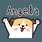 สติ๊กเกอร์ไลน์ 404 Angela