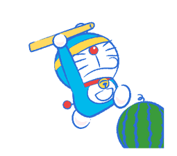 Doraemon's Moving Summer Vacation sticker #12036280