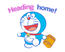 Doraemon's Moving Summer Vacation sticker #12036286