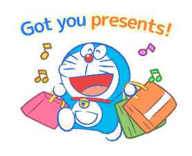 Doraemon's Moving Summer Vacation sticker #12036287