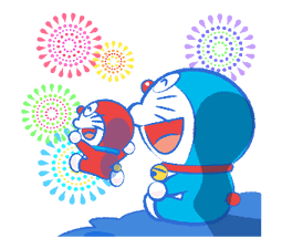 Doraemon's Moving Summer Vacation sticker #12036288