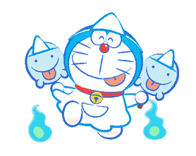 Doraemon's Moving Summer Vacation sticker #12036289