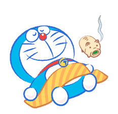 Doraemon's Moving Summer Vacation sticker #12036293