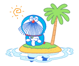Doraemon's Moving Summer Vacation sticker #12036300