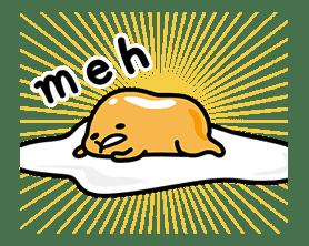 gudetama Pop-up Stickers sticker #12518992