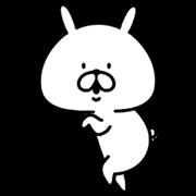 สติ๊กเกอร์ไลน์ Yuru Usagi ขยับได้ด้วยน๊า
