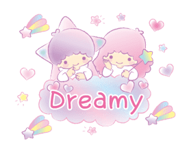 Little Twin Stars: Dreamy Animations sticker #12624968