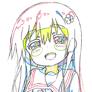 สติ๊กเกอร์ไลน์ Watashi ni Tenshi ga Maiorita!(Keyframe)