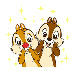 Chip 'n' Dale Pop-Up Stickers sticker #12519077