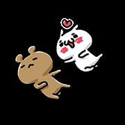 สติ๊กเกอร์ไลน์ LOVE MODE ~COUPLES MOVE~