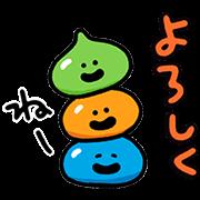 สติ๊กเกอร์ไลน์ Kanahei x Hoshi no Dragon Quest