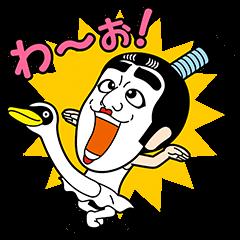 飛び出す! 志村けん キャラクターズ3 | StampDB - LINEスタンプランキング