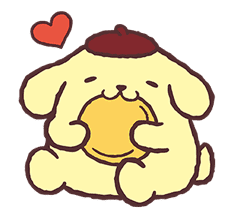 Pompompurin Pop-Up Stickers sticker #12887970
