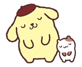 Pompompurin Pop-Up Stickers sticker #12887972