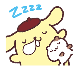 Pompompurin Pop-Up Stickers sticker #12887975