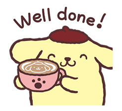 Pompompurin Pop-Up Stickers sticker #12887978
