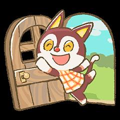 Animal Crossing 15th Anniversary Sticker