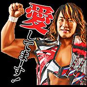 สติ๊กเกอร์ไลน์ NJPW สติกเกอร์พูดได้