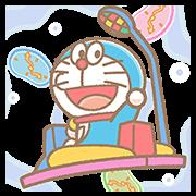 สติ๊กเกอร์ไลน์ Doraemon Pop-Up Stickers