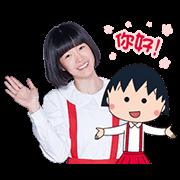 สติ๊กเกอร์ไลน์ Chibi Maruko Chan TV Drama