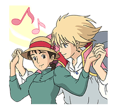 Howl's Moving Castle sticker #14117566