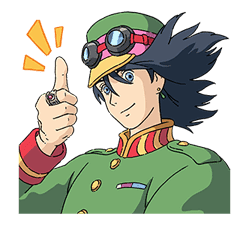 Howl's Moving Castle sticker #14117572
