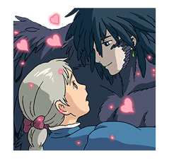 Howl's Moving Castle sticker #14117586