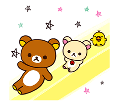 Rilakkuma Winter Holiday Pop-Ups sticker #14227152