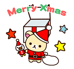Rilakkuma Winter Holiday Pop-Ups sticker #14227164