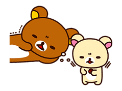 Rilakkuma Winter Holiday Pop-Ups sticker #14227165