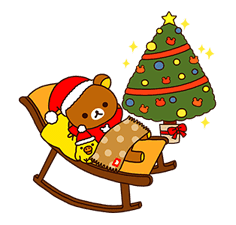 Rilakkuma Winter Holiday Pop-Ups sticker #14227166