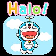 สติ๊กเกอร์ไลน์ Doraemon in Indonesia