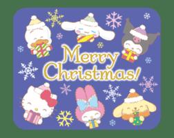 SANRIO CHARACTERS (Winter) sticker #14361134