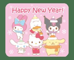 SANRIO CHARACTERS (Winter) sticker #14361136