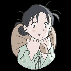 สติ๊กเกอร์ไลน์ Konosekai no katasumini พร้อมเสียง Suzu