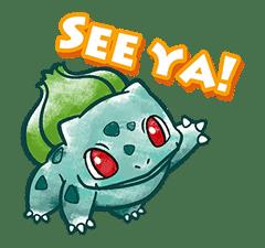 Pokémon Chat Pals sticker #14390846