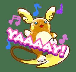 Pokémon Chat Pals sticker #14390856