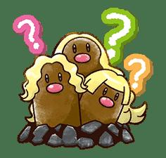 Pokémon Chat Pals sticker #14390869