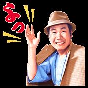 สติ๊กเกอร์ไลน์ Otoko wa Tsurai yo พร้อมเสียง Tora-san