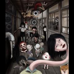 สติ๊กเกอร์ไลน์ Horror gathering