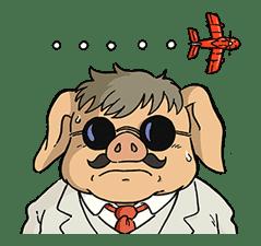 Porco Rosso sticker #15055009